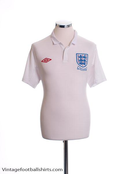 2009-10 England Home Shirt XL