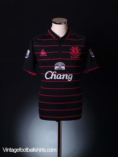 2009-10 Everton Away Shirt XXXL