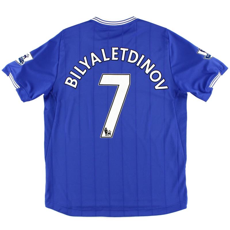 2009-10 Everton Home Shirt Bilyaletdinov #7 L
