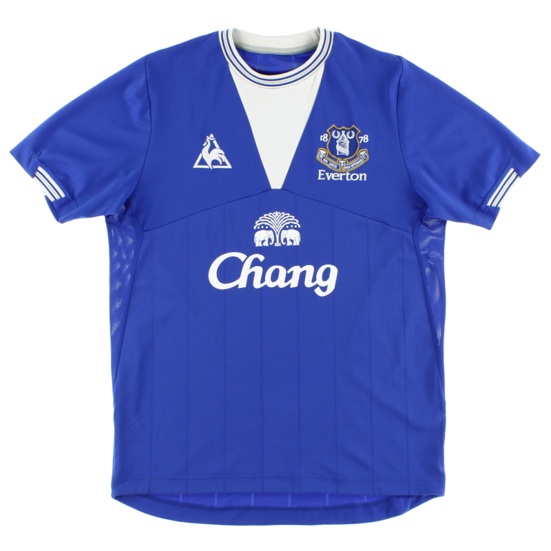 2009-10 Everton Home Shirt M