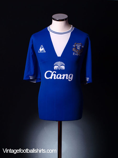 2009-10 Everton Home Shirt  XXXL