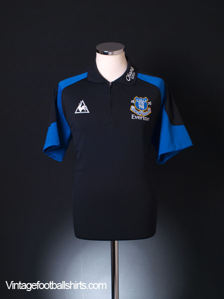 2009-10 Everton Polo Shirt L