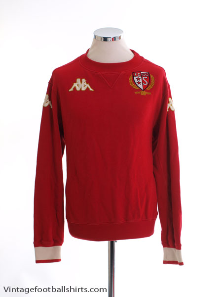 2009-10 FC Sion Centenary Training Jumper S
