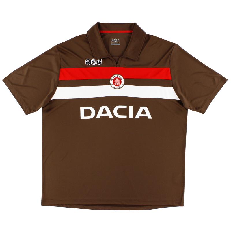 2009-10 FC St. Pauli Home Shirt *As New* XXL