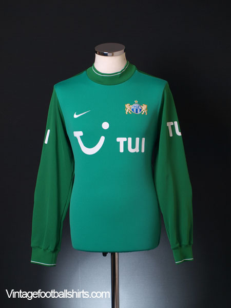 2009-10 FC Zurich Goalkeeper Shirt M
