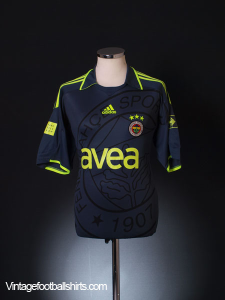 2009-10 Fenerbahce Third Shirt *Mint* S
