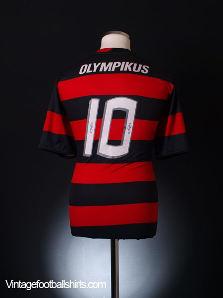 2009 -10 Flamengo Home Shirt #10 *Mint* L