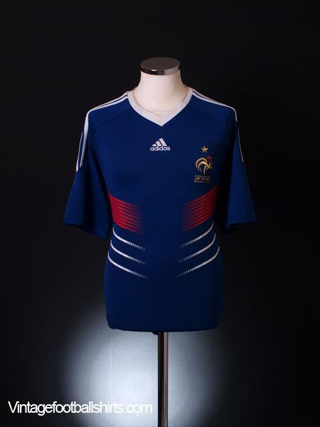 2009-10 France Home Shirt L