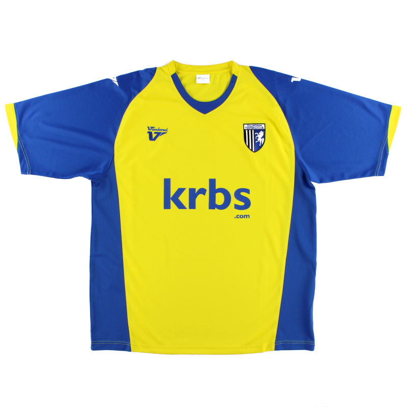 2009-10 Gillingham Away Shirt XXL