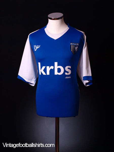 2009-10 Gillingham Home Shirt XL