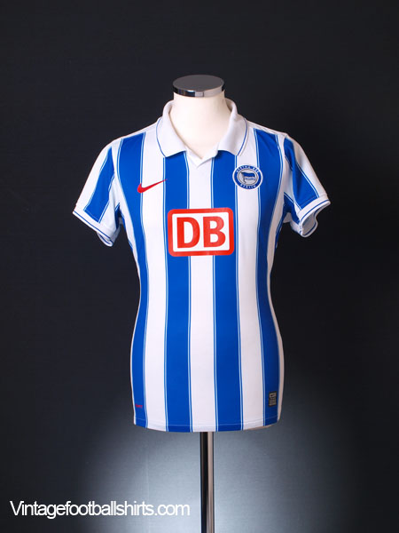 2009-10 Hertha Berlin Home Shirt Woman's 14