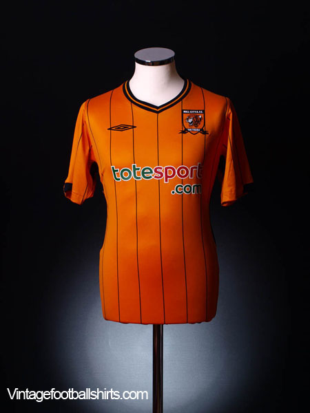 2009-10 Hull City Home Shirt S