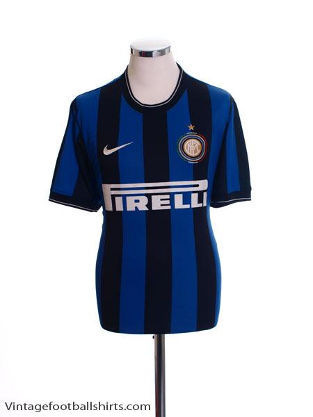 2009-10 Inter Milan Home Shirt XL - 354270-463