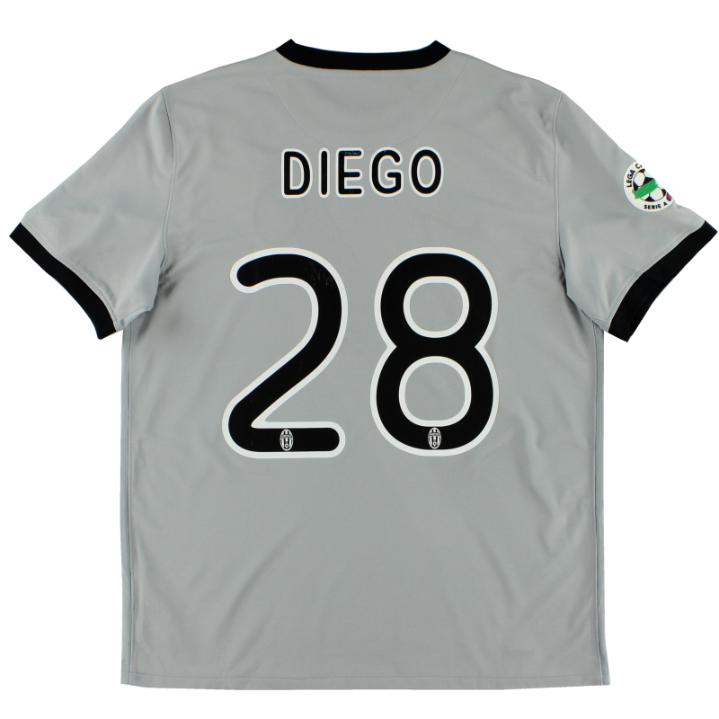 2009-10 Juventus Away Shirt Diego #28 L