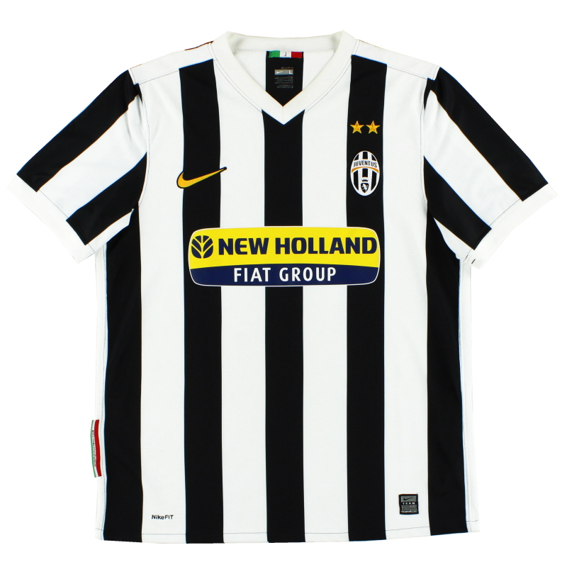 2009-10 Juventus Home Shirt M