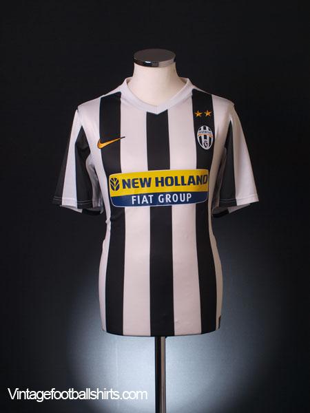 2009-10 Juventus Home Shirt *Mint* M