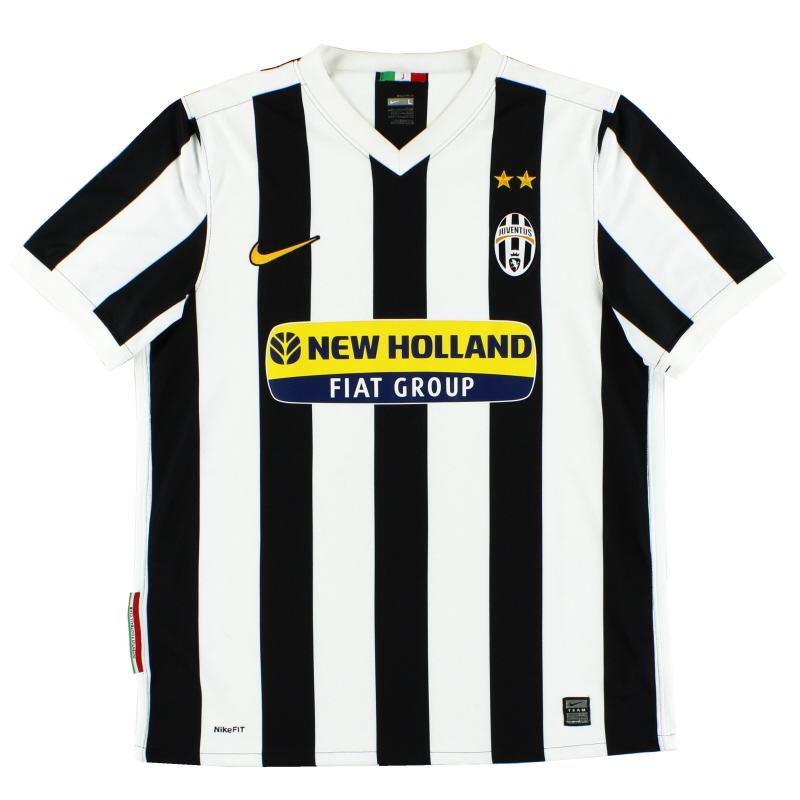 2009-10 Juventus Nike Home Shirt M - 354296-010
