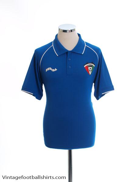 2009-10 Kuwait Burrda Polo Shirt *Mint* M