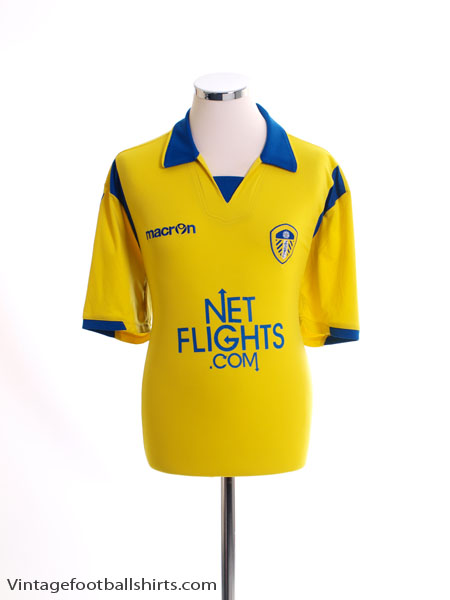 2009-10 Leeds Away Shirt L
