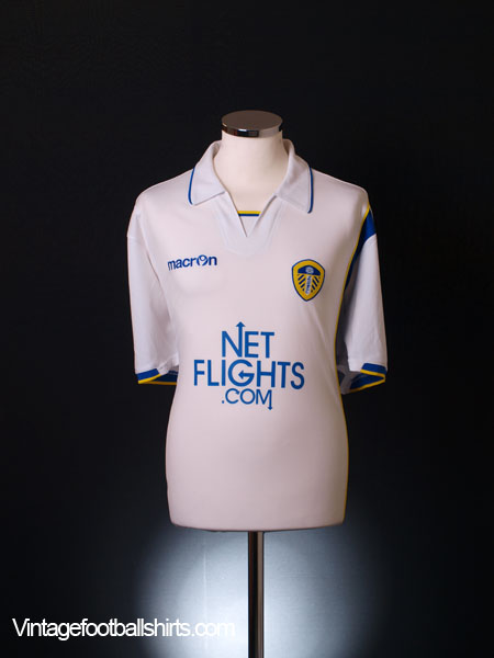 2009-10 Leeds Home Shirt L