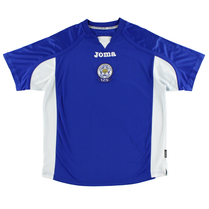 2009-10 Leicester '125 Years' Home Shirt M