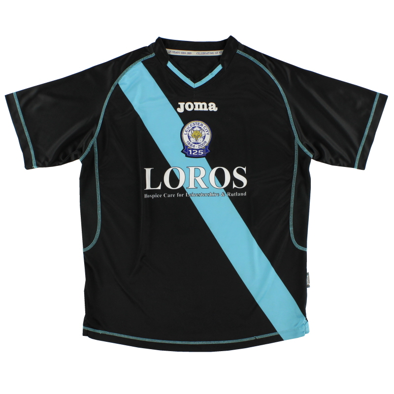 2009-10 Leicester Away Shirt M