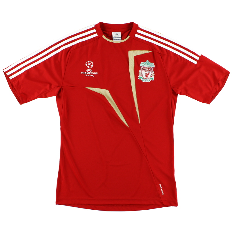 2009-10 Liverpool adidas Champions League Training Shirt M - P05573