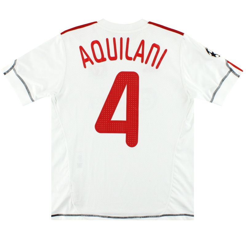 2009-10 Liverpool adidas CL Third Shirt Aquilani #4 XL.Boys - P06226