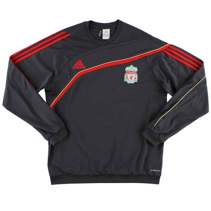 2009-10 Liverpool adidas Training Sweatshirt *Mint* L - P06983