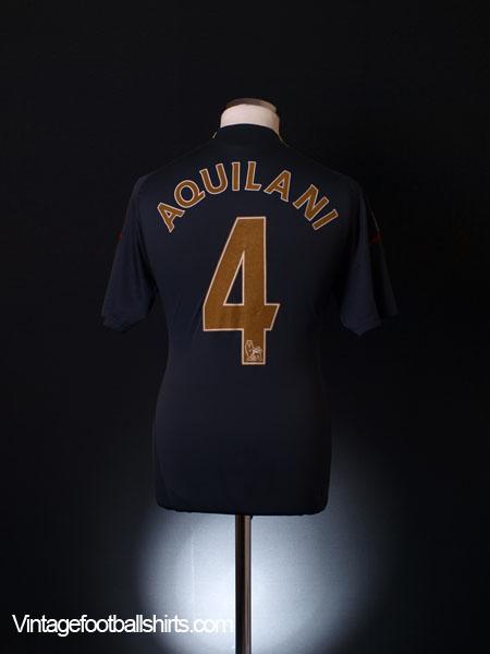 2009-10 Liverpool Away Shirt Aquilani #4 S