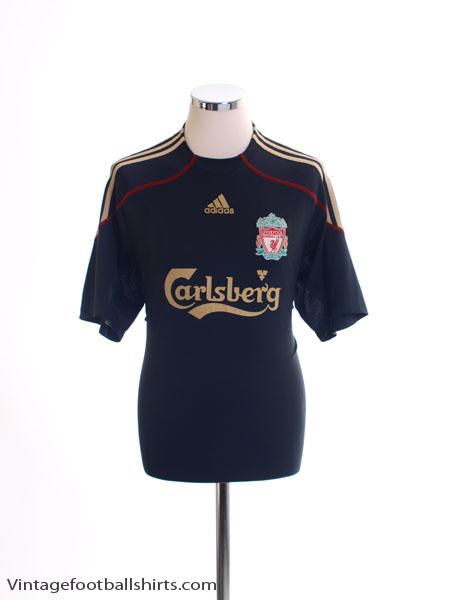 2009-10 Liverpool Away Shirt L - E85670