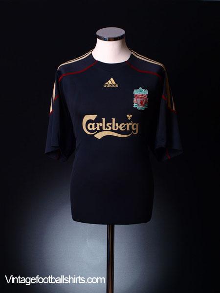 2009-10 Liverpool Away Shirt L