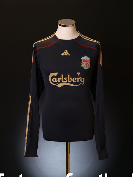 2009-10 Liverpool Away Shirt L/S M