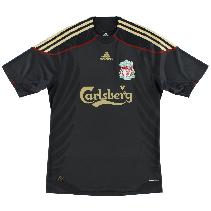 2009-10 Liverpool Away Shirt S - E85670