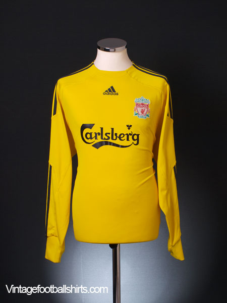 2009-10 Liverpool Goalkeeper Shirt L