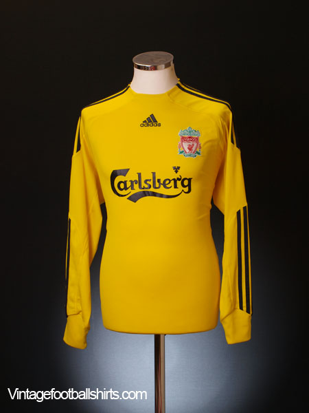 2009-10 Liverpool Goalkeeper Shirt L/S M