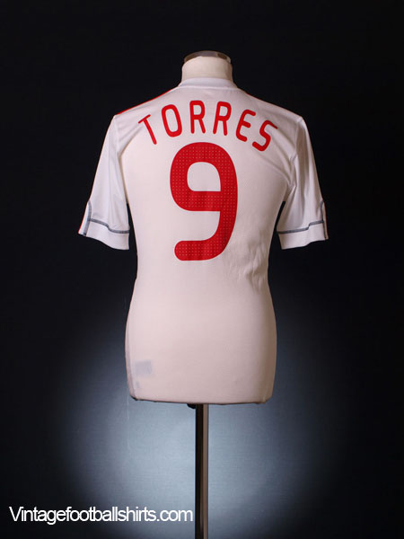 2009-10 Liverpool Third Shirt Torres #9 XXL