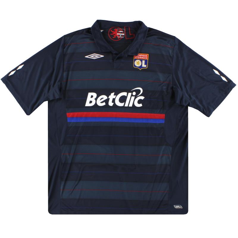 2009-10 Lyon Umbro European Shirt XXL