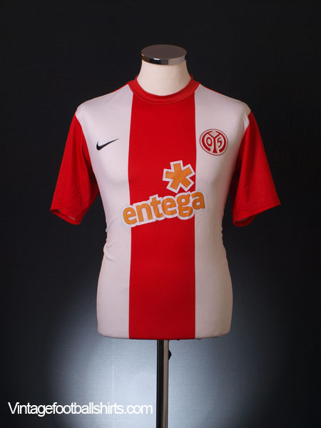 2009-10 Mainz 05 Home Shirt S