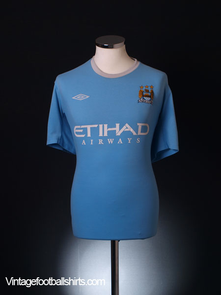 2009-10 Manchester City Home Shirt XL