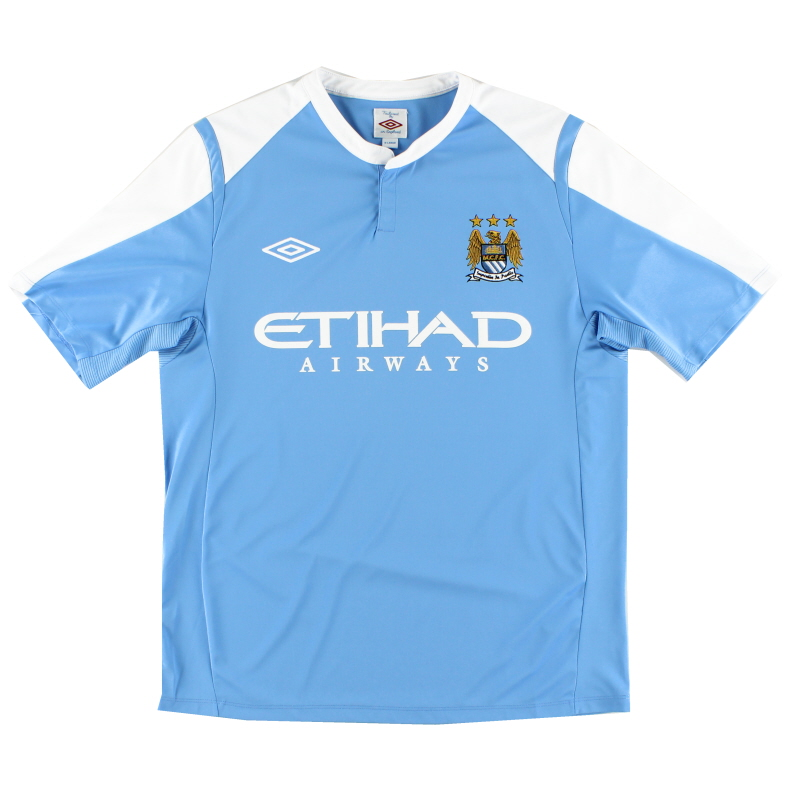 2009-10 Manchester City Training Shirt XL