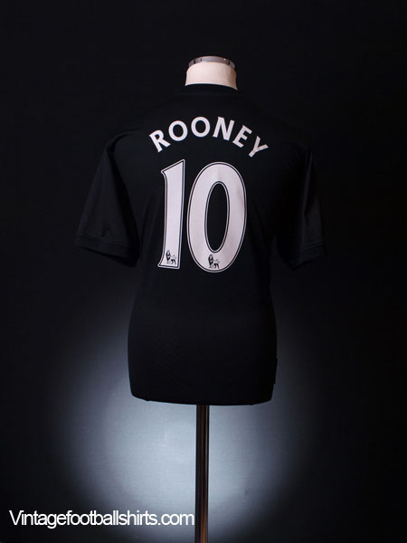 2009-10 Manchester United Away Shirt Rooney #10 M