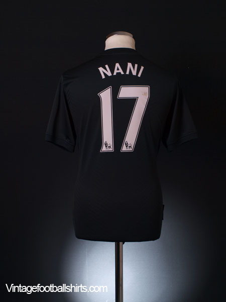 2009-10 Manchester United Away Shirt Nani #17 M