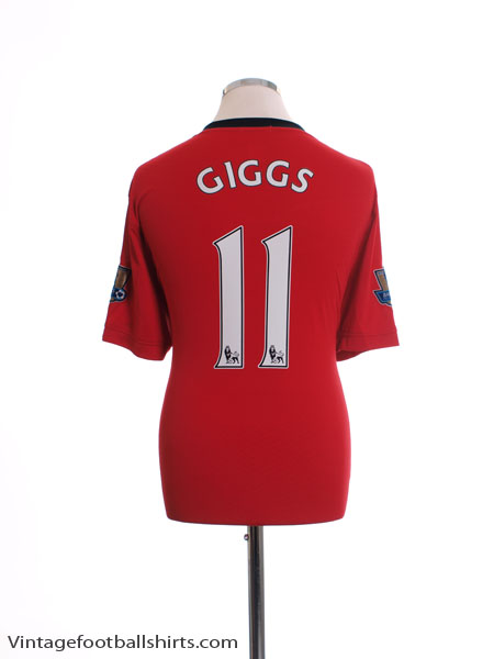 2009-10 Manchester United Home Shirt Giggs #11 XL