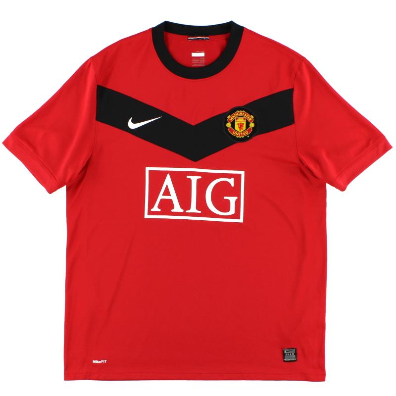 2009-10 Manchester United Home Shirt XL - 355091-623