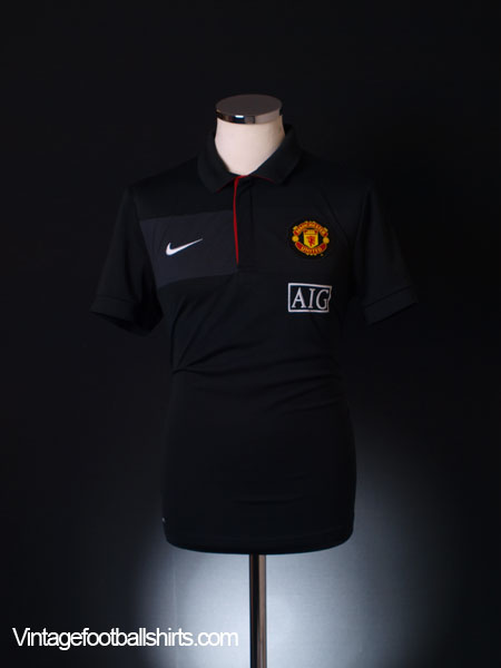 2009-10 Manchester United Polo Shirt M