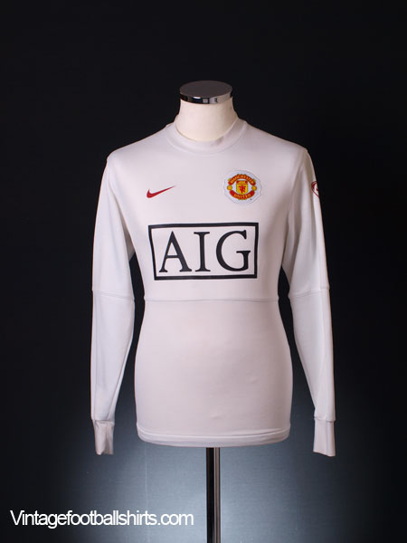 2009-10 Manchester United Training Jumper L/S S