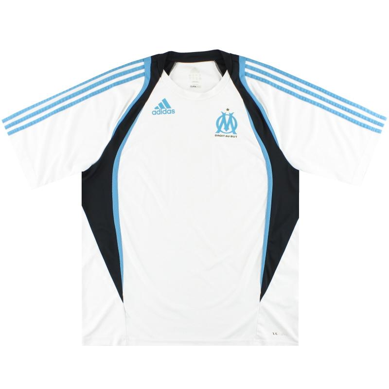 2009-10 Marseille adidas Training Shirt XL - P07523