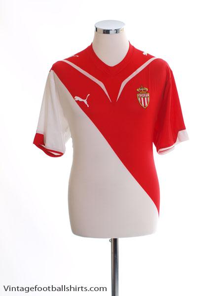 2009-10 Monaco Home Shirt L