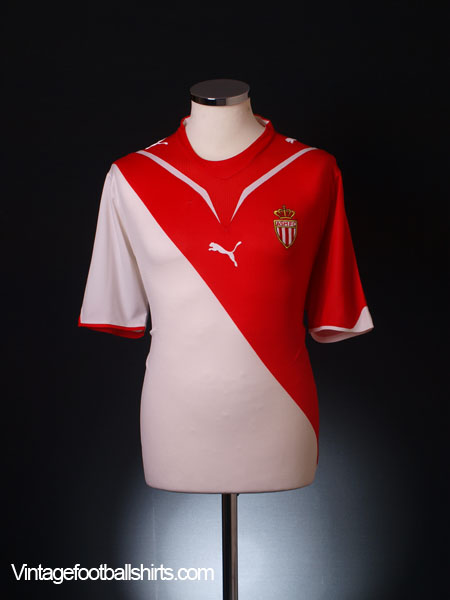 2009-10 Monaco Home Shirt XL
